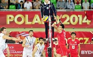 پیروزی تیم ملی والیبال ایران در برابر آرژانتین