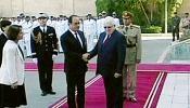 رییس جمهوری فرانسه وارد بغداد شد