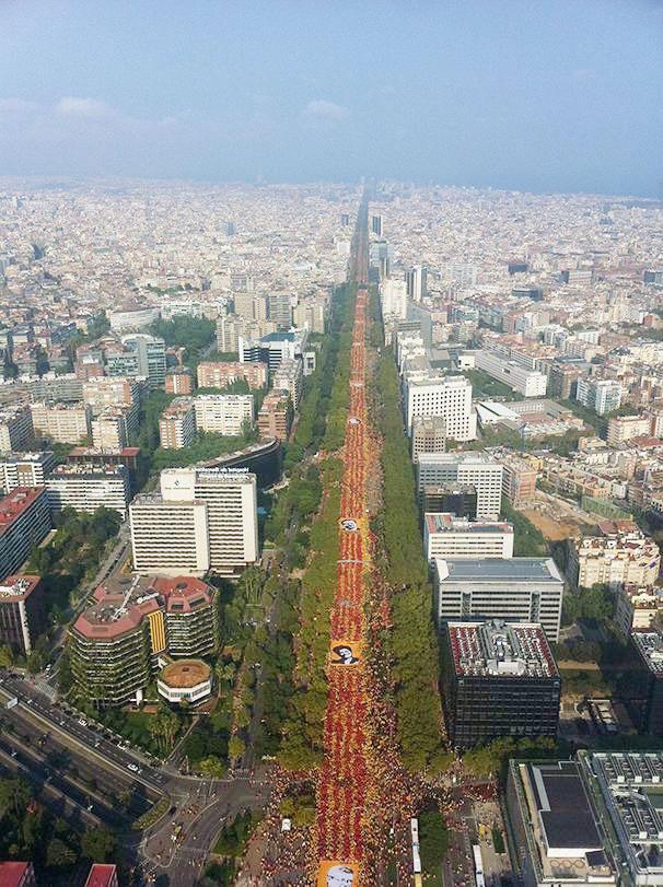 کاتالونیا در انتظار همه پرسیِ استقلال