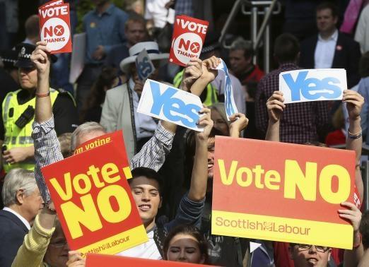 افزایش طرفداران استقلال در اسکاتلند