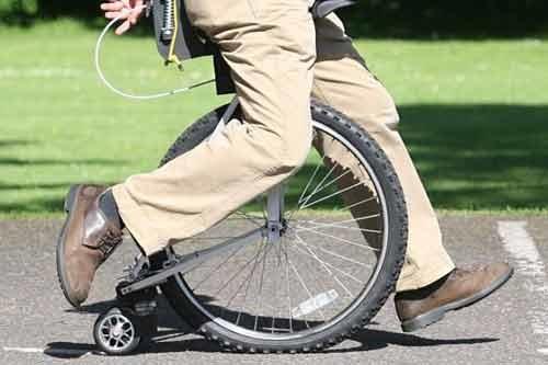 تک چرخ بدون فرمان و پدال
