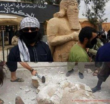 داعش قلعه صلاح الدین را منفجر کرد