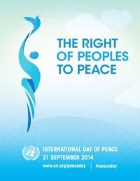 مراسم روز جهانی صلح برگزار میشود