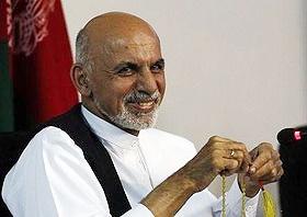 محمد اشرف غنی احمدزی رئیسجمهور افغانستان