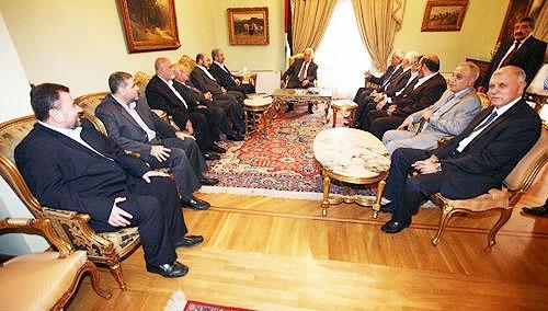 آغاز مذاکرات آشتی فلسطین در قاهره