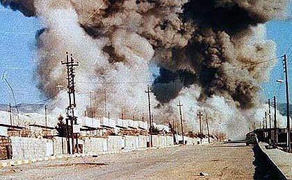 داعش ۳۰۰ نظامی عراقی را با گاز های سمی کشت