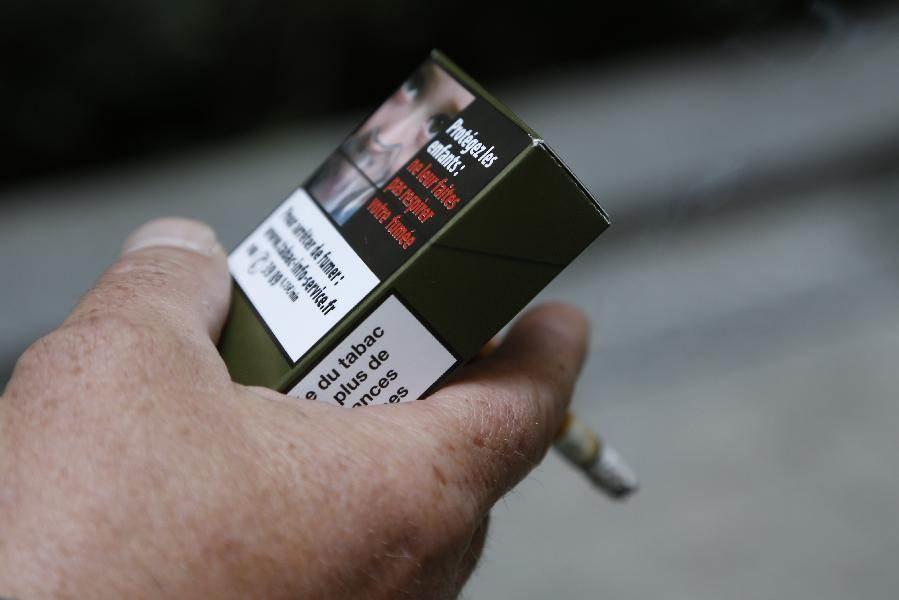 سیگارهای ساده و بدون آرم در فرانسه