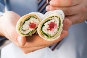 آشنایی با روش تهیه یک ساندویچ خوشمزه براى مدرسه