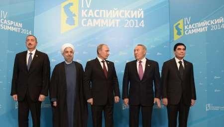 نشست سران کشورهای ساحلی دریای خزر در آستراخان روسیه آغاز شد
