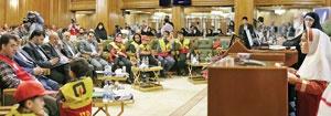 گرامیداشت روز آتشنشان در شورای شهر تهران