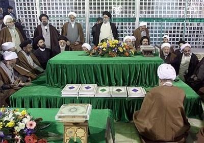 اعضای مجلس خبرگان با امام راحل تجدید میثاق کردند