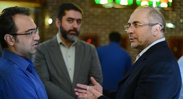 حضور شهردار تهران در پشت صحنه سریال پرده نشین