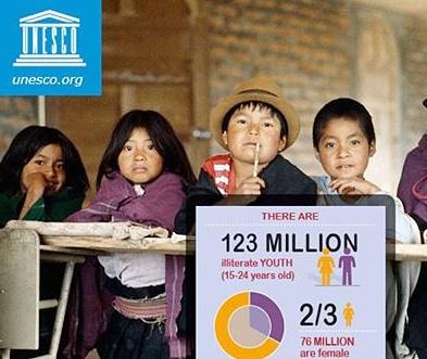 پیام مدیرکل یونسکو به مناسبت روز جهانی سوادآموزی