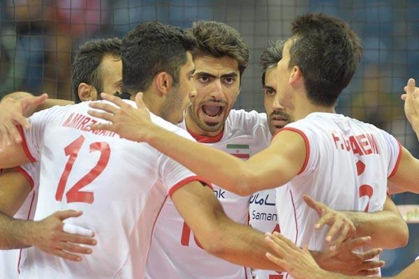 والیبال قهرمانی جهان / ایران ۳ ؛ پورتوریکو صفر ؛ شکست بلژیک مقابل فرانسه
