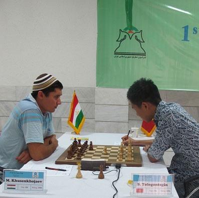 نتایج دورهای چهارم و پنجم شطرنج جام اکو