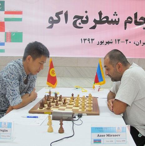 نتایج دور ششم مسابقات شطرنج جام اکو