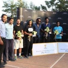حسینزاده قهرمان مسابقات تنیس جام سیکو شد