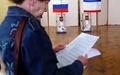 حزب حاکم روسیه در انتخابات کریمه به پیروزی رسید