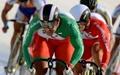 تیم دوچرخهسواری اسپرینت چهارم شد
