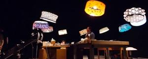 اجرای نمایش در سیرک توسط پهبادها