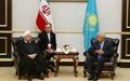 گسترش بیش از پیش روابط تهران - آستانه، محور گفت وگوها است