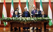 امضای ۹ سند همکاری میان ایران و تاجیکستان