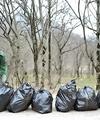 جمعآوری زبالهها از پارک ملی گلستان