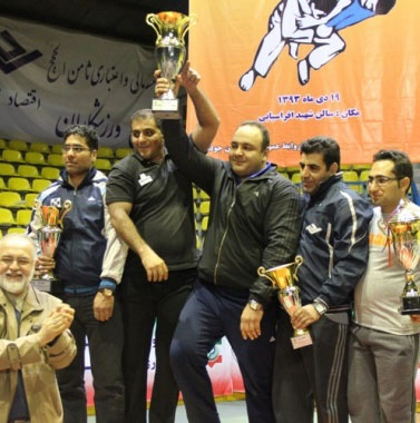 تهران فاتح رقابتهای جودوی قهرمانی کشور شد