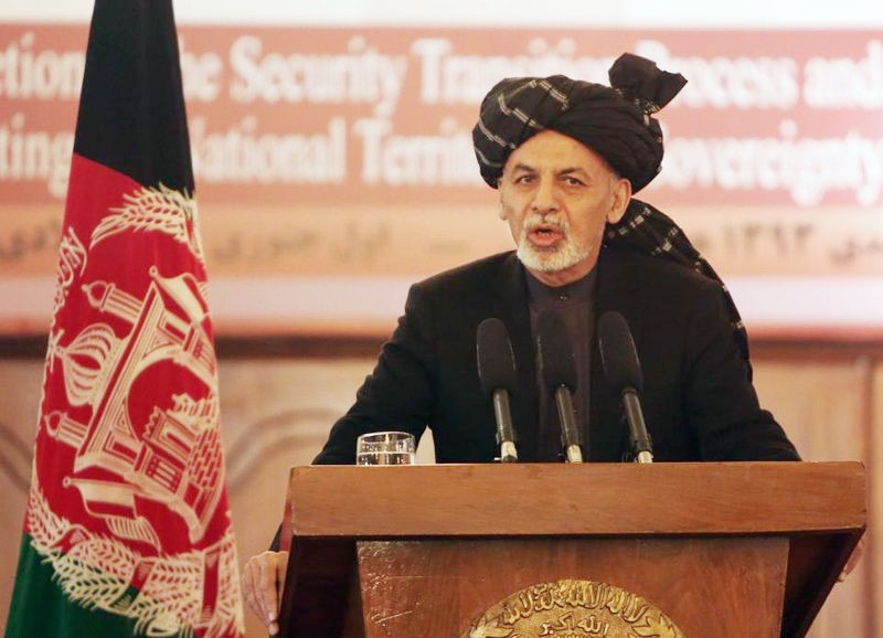 کابینه افغانستان معرفی شد