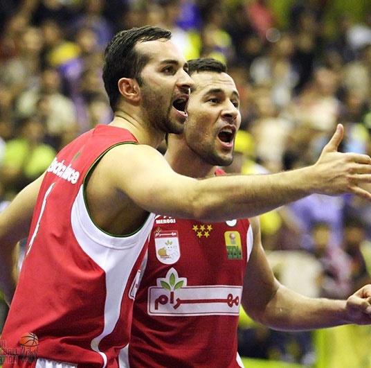 پایان دور مقدماتی مسابقات لیگ ملی بسکتبال با صدرنشینی مهرام