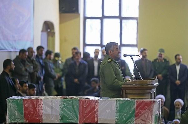 تصاویر مراسم تشییع پیکر سردار محمد علی الله دادی