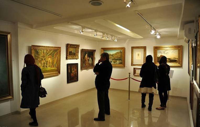 گالری های تهرانی