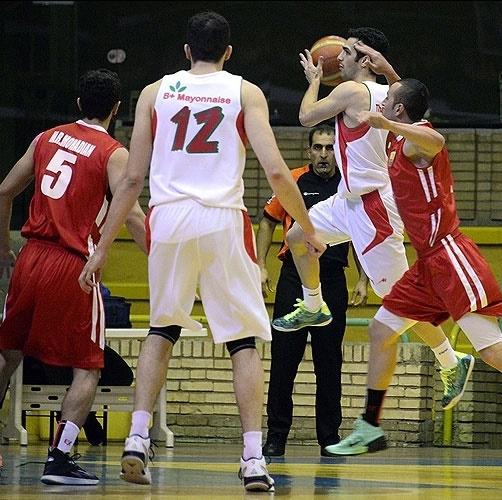 مهرام اولین فینالیست لیگ ملی بسکتبال
