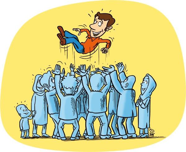 محبوبیت امانتی از سوی مردم است