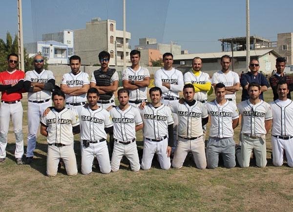 Azarakhsh Baseball Team
