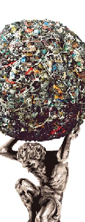 سالانه ۱۰ هزار میلیارد تومان خرج زباله میکنیم