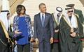 مذاکرات ۴ ساعته اوباما در ریاض