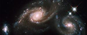 تصویر هابل از ستارههای فراری یک کهکشان