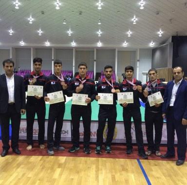 نتایج جوودو قهرمانی نوجوانان آسیا؛ پسران ایران سوم شدند