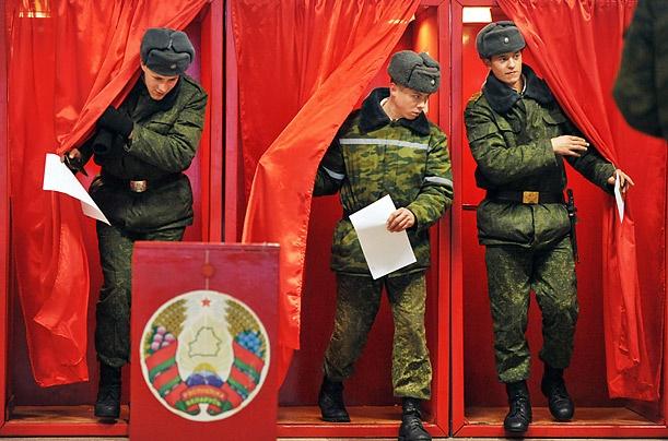 آغاز انتخابات ریاست جمهوری بلاروس
