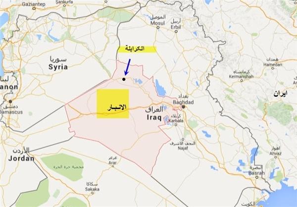 نیروی هوایی عراق کاروان ابوبکر بغدادی را هدف قرار داد
