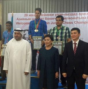مصدقپور قهرمان شطرنج جوانان آسیا شد/ جوانبخت به مدال برنز رسید