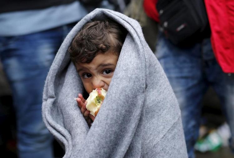 migrant boy