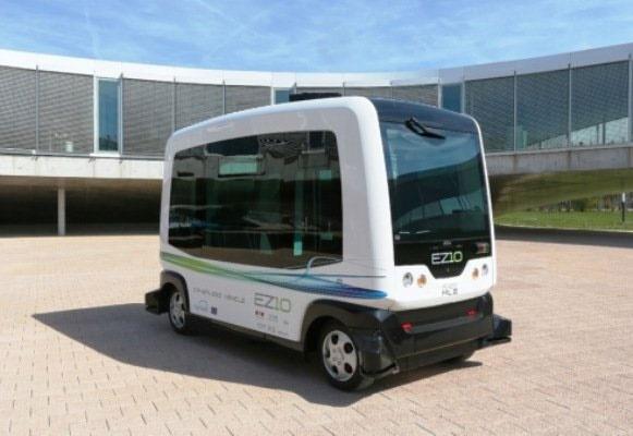 رونمایی از نسل جدید اتوبوسهای خودران تمام برقی