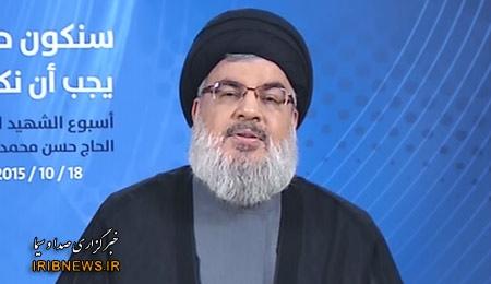 سید حسن نصرالله: مقاومت از همه ملتهای منطقه دفاع میکند
