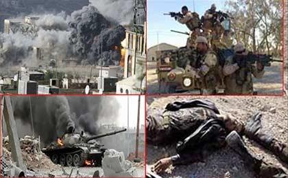 هلاکت تعدادی از نظامیان سعودی در استان عسیر