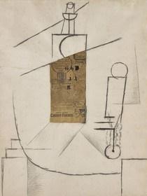 رونمایی از کلاژی استثنایی متعلق به پیکاسو