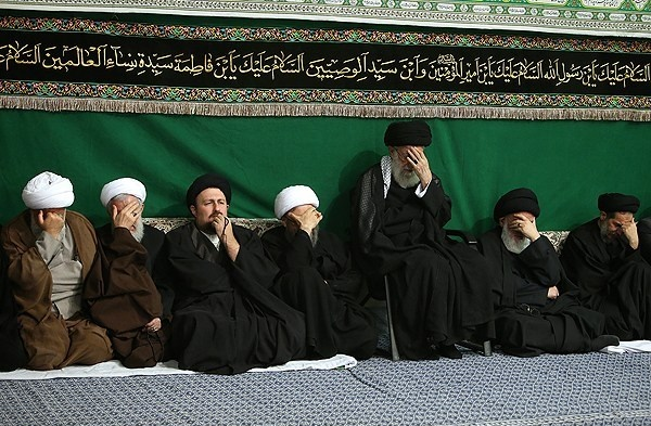 مراسم عزاداری حضرت اباعبدالله الحسین (ع) در حضور رهبر معظم انقلاب
