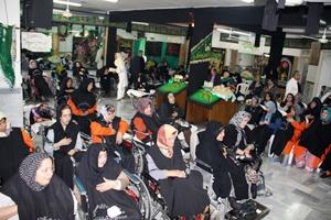 حضور پررنگ مددجویان آسایشگاه کهریزک در عزاداری سرور و سالار شهیدان