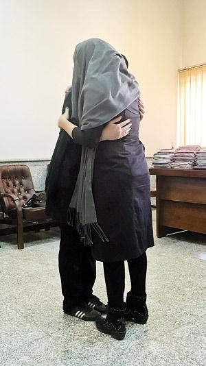 دیدار مادر و دختر پس از ۲۴ سال